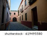 Quiet Narrow Street With...