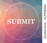 submit icon. submit website... | Shutterstock . vector #619508264