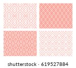 collection of four geometric... | Shutterstock .eps vector #619527884