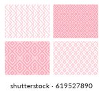 collection of four geometric... | Shutterstock .eps vector #619527890