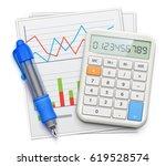 vector illustration of business ... | Shutterstock .eps vector #619528574