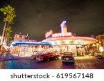 bokeh background of classic... | Shutterstock . vector #619567148