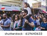 valparaiso  chile   august 21 ... | Shutterstock . vector #619640633