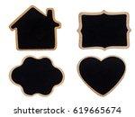 A Blank Blackboard Label...