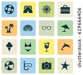 hot icons set. collection of...   Shutterstock .eps vector #619666406