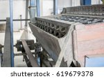 some part of rice mill machine... | Shutterstock . vector #619679378