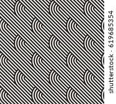 seamless geometric pattern.... | Shutterstock .eps vector #619685354
