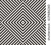 repeating geometric stripes... | Shutterstock .eps vector #619686260