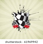 racing sign | Shutterstock .eps vector #61969942