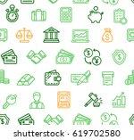 Finance Pattern Background Wit...