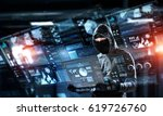 network security and privacy... | Shutterstock . vector #619726760