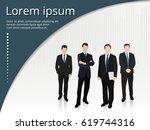 business people | Shutterstock .eps vector #619744316