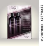flyer  brochure or magazine...   Shutterstock .eps vector #619746653