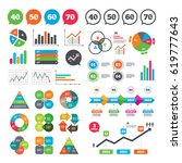 business charts. growth graph....   Shutterstock .eps vector #619777643