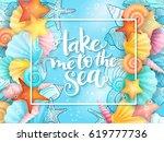 vector illustration of hand... | Shutterstock .eps vector #619777736