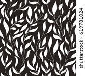 seamless floral  pattern | Shutterstock .eps vector #619781024