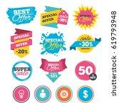 sale banners  online web... | Shutterstock .eps vector #619793948