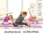 Group Of Children Doing...