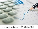 financial planning accounting... | Shutterstock . vector #619836230