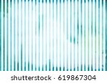 watercolor striped background   Shutterstock . vector #619867304