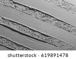 white grey liquid oil abstract... | Shutterstock . vector #619891478