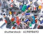 background texture of... | Shutterstock . vector #619898693