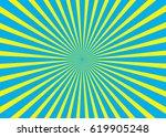 sunny background. rising sun... | Shutterstock .eps vector #619905248