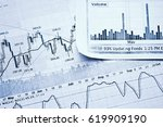 showing business and financial... | Shutterstock . vector #619909190