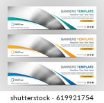 abstract web banner design... | Shutterstock .eps vector #619921754