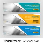 abstract web banner design... | Shutterstock .eps vector #619921760