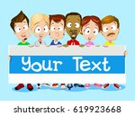 vector cartoon illustration of... | Shutterstock .eps vector #619923668