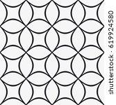 vector seamless pattern. trendy ... | Shutterstock .eps vector #619924580