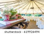 tables decorated for a party or ... | Shutterstock . vector #619926494