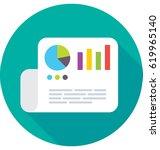report vector icon   Shutterstock .eps vector #619965140