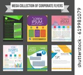 mega collection of corporate... | Shutterstock .eps vector #619981079