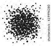 black glitter banner  dark... | Shutterstock .eps vector #619996280