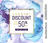 special discount square banner... | Shutterstock .eps vector #620003504