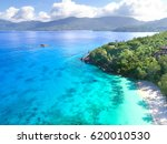 Small photo of Anse Soleil - beautiful beach at seychelles, Mahe