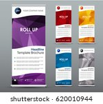set of vertical roll up banners.... | Shutterstock .eps vector #620010944
