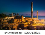 ancient ruins at carthage ... | Shutterstock . vector #620012528