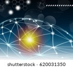 technology of web connexion | Shutterstock . vector #620031350