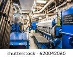 interior of modern advanced... | Shutterstock . vector #620042060