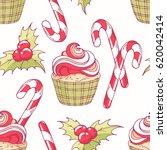 hand drawn seamless pattern...   Shutterstock .eps vector #620042414