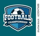 football logo template | Shutterstock .eps vector #620047688