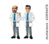 doctor man cartoon design | Shutterstock .eps vector #620056478