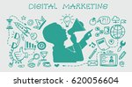 business concept. marketing and ... | Shutterstock .eps vector #620056604