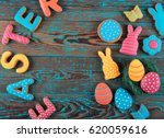 Sign Easter Made From Biscuits...