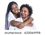 a mother and her teenage... | Shutterstock . vector #620064998