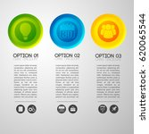 infographic business concept... | Shutterstock .eps vector #620065544