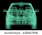 front view of the station car... | Shutterstock . vector #620067908
